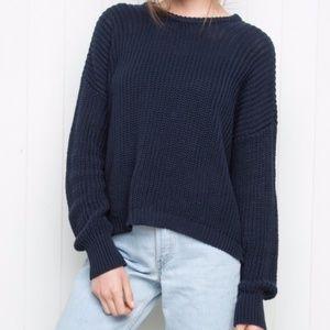 Blue Knit Brandy Melville Sweater
